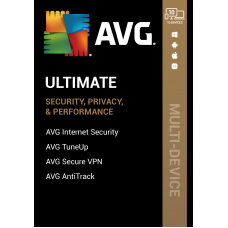 AVG ULTIMATE 2022, 10 Multi-Devices 1 Year LATEST  - (ACTIVATION CARD BY ROYAL MAIL 1ST CLASS)
