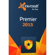Avast! PREMIER 2015, 3 PCs, 1 Year, DIGITAL DOWNLOAD