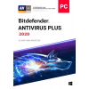 Bitdefender ANTIVIRUS PLUS 2020, 3 PCs 1 Year (LATEST DOWNLOAD VERSION)