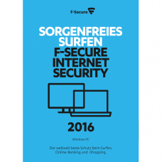 F-Secure Internet Security 2017, 3 PCs, 1 Year, DIGITAL DOWNLOAD
