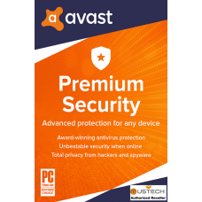 Avast PREMIUM SECURITY 2020, 10 Multi-Devices, 1 Year (DOWNLOAD VERSION BY EMAIL)