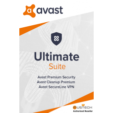 Avast ULTIMATE SUITE 2020, 10 Multi-Devices, 1 Year (DOWNLOAD VERSION BY EMAIL)