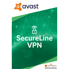 Avast SecureLine VPN 2020, 5 Multi-Devices, 2 Years (DOWNLOAD VERSION BY EMAIL)